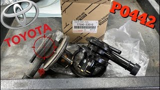 P0440 P0442 Diagnose Replace OverFill Check Valve Toyota Corolla Sienna - Matrix - Camry