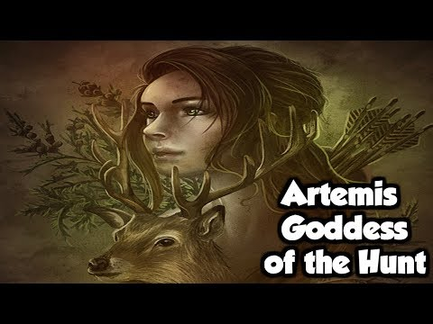 Artemis Goddess Of The Hunt & Moon - (Greek Mythology Explained)