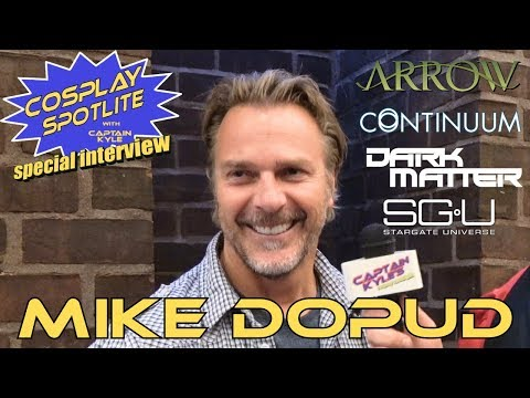 Mike Dopud Arrow, Continuum  Cosplay Spotlite Special