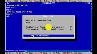 Hướng dẫn viết chương trình Pascal đơn giản