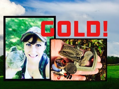 I found gold with my metal detector!  And old coins, jewelry & relics!