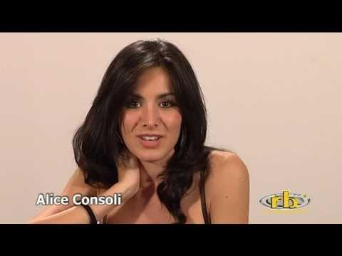 ALICE CONSOLI - provino e intervista - WWW.RBCASTING.COM