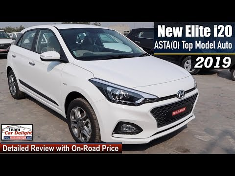 Elite I20 2019 Top Model Asta O Automatic Detailed Review With On Road Price I20 2019 Astao Youtube