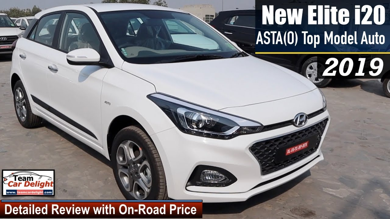 Elite I20 2019 Top Model Asta O Automatic Detailed Review With On