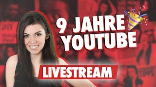 Was ist in 2010 so passiert & was hab ich auf YouTube gelernt?   9 Jahre YouTube LIVE   Sara Casy