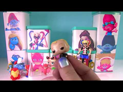 Huge Surprise Toy Blind Box Show Trolls Movie, Boss Baby, Ch