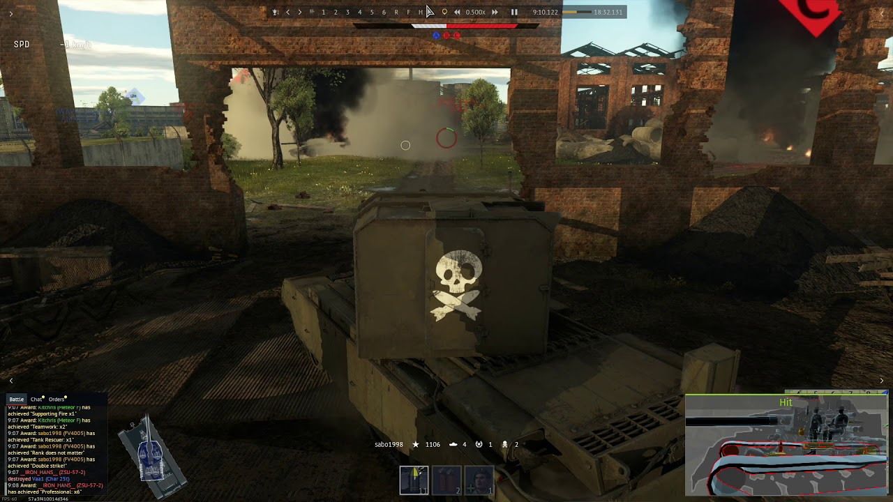 Double Kill With One Shot FV4005
