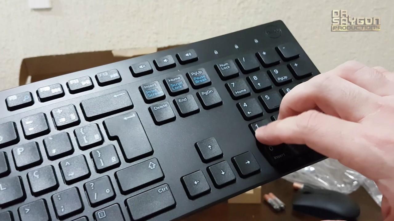 Dell Kit Teclado E Mouse Wireless Km636 Unboxing Teste Avaliao Logitech Mk220 Keyboard Combo Original Oferta Vista No Hardmob