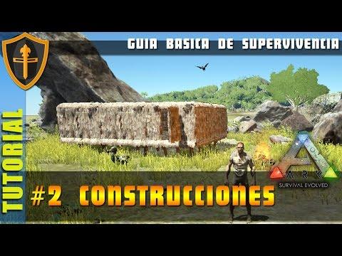 ARK SURVIVAL EVOLVED, Guia de supervivencia 2 construcciones ► Gameplay Español