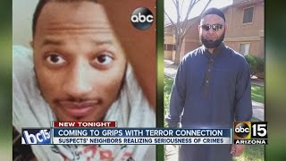 Valley coming to grips with terror connection