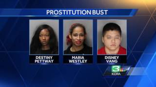 3 busted for sex trafficking of a minor in Elk Grove