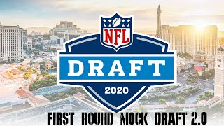 2020 NFL First Round Mock Draft Version 2.0