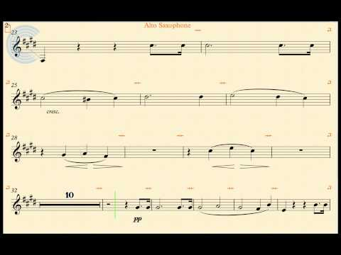 Alto Sax - Moonlight Sonata - Beethoven - Sheet Music & Chords