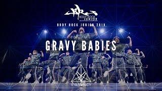 [1st Place] GRaVy Babies | Body Rock Jr 2019 [@VIBRVNCY Front Row 4K]