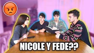 NICOLE SE ENTERA QUE FEDE DURMIÓ CON OTRA CHICA...