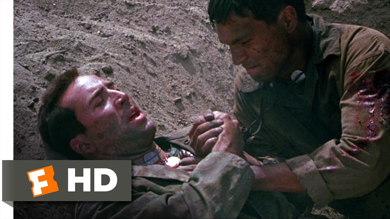 Windtalkers (9/10) Movie CLIP - The Death of Sgt  Enders (2002) HD