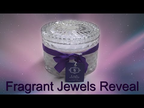 Fragrant Jewels Ring Reveal - Lush Orchid Swarovski Crystal Candle!