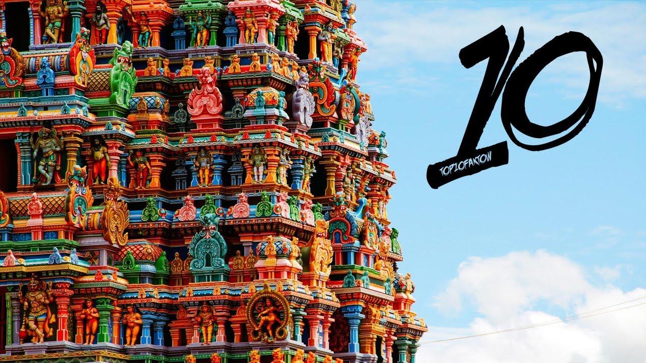 Najdziwniejsze świątynie i miejsca kultu świata!