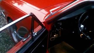 Mustang 65 poppy red