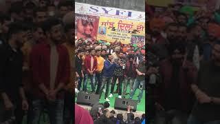 Live singing by happy raikoti