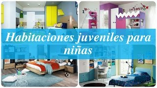 Gambar cover Habitaciones juveniles para niñas