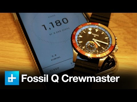 Fossil Q Crewmaster Smartwatch - Hands On Review