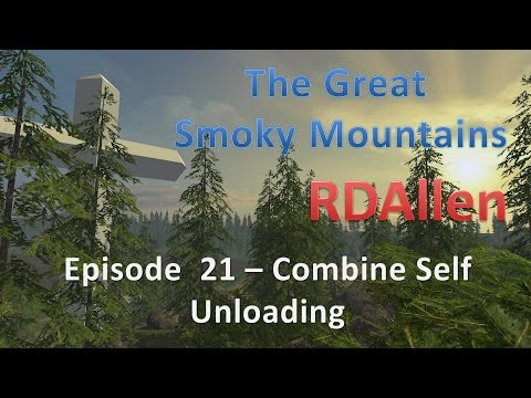 Farming Simulator 15 Smoky Mountains E21 - Combine Self Unloading