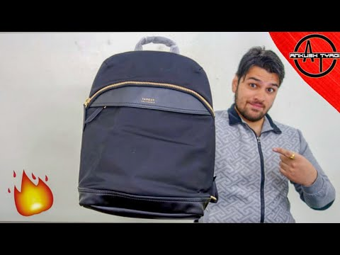 Cutest BackPack Ever : Newport Mini by Targus ||  Ankush Tyagi