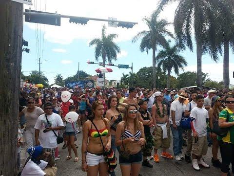Calle Ocho Miami 2017 Havana Spring Break Ultra Music Carnival