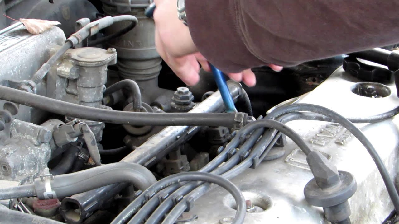 How to replace Honda Accord 19931997 spark plugs  YouTube