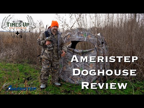 Mobile Hunting- Ameristep Dog House Blind Review