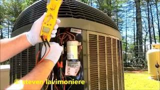 trane XL14i condensing unit making strange noise part 1 of 2