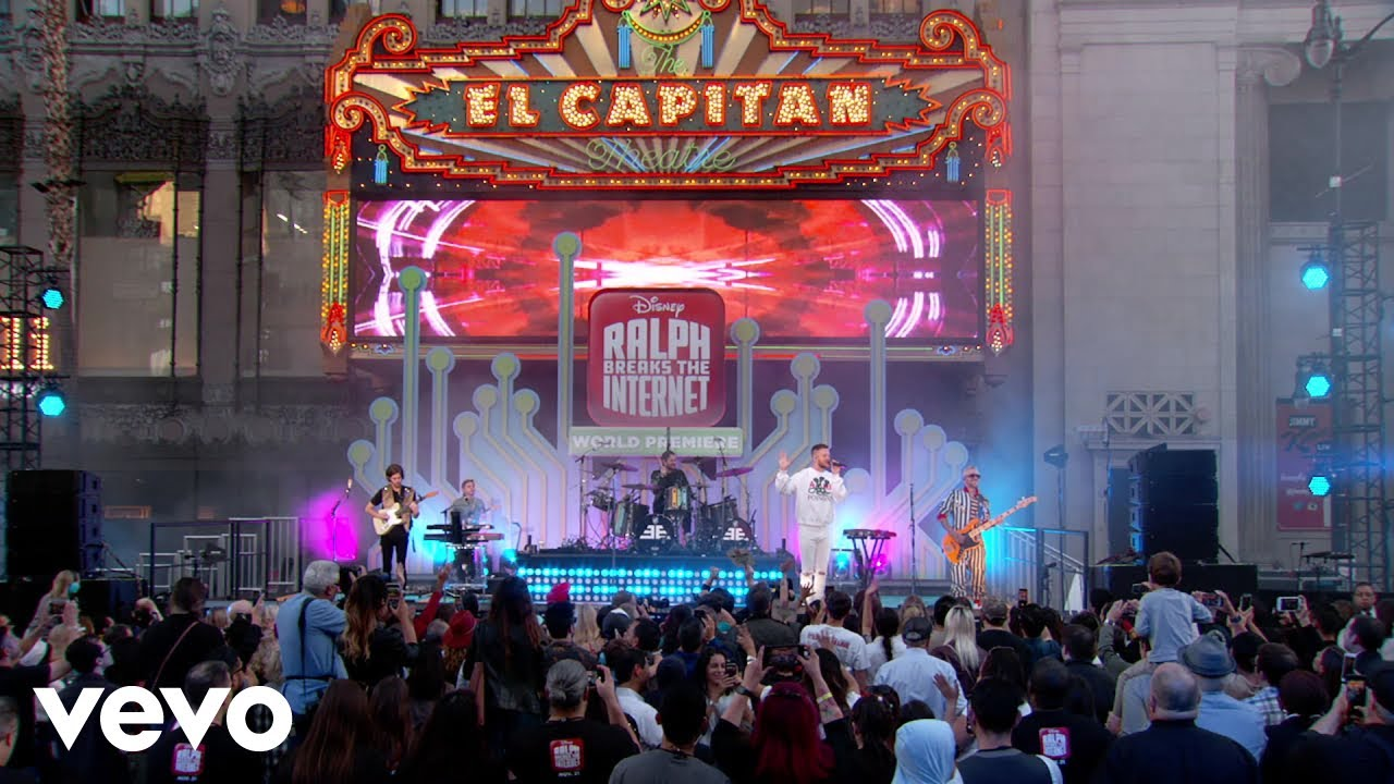 """Zero (Live From Jimmy Kimmel Live!/2018/From the Original Motion Picture """"Ralph Breaks ..."""