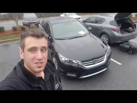 "Rear Brake Pads Rotors 13-17 Honda Accord Replacement ""How to"""