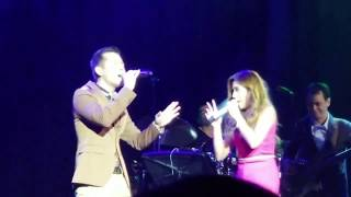 Morissette and Jason Dy duet of PERFECT by Ed Sheeran   Live at Winnipeg Canada 2018