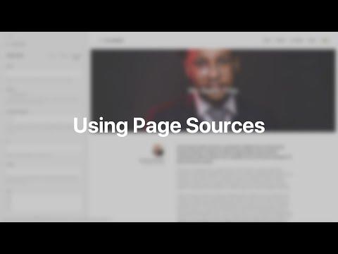 Using Page Sources   YOOtheme Documentation (Joomla)