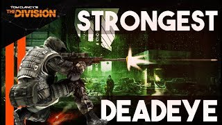 The STRONGEST Deadeye Sniper Build - PvP and PvE (NOT 6 Classified) The Division
