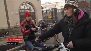Hemlösa svenskar trängs undan av utländska tiggare