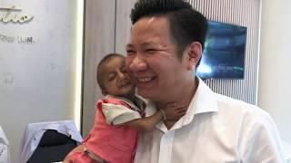 Cuộc hội ngộ đầy xúc động của Cậu Bé Tí Hon K'Rể và Bác sĩ Võ Thành Trung