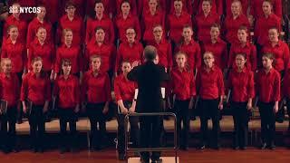 NYCOS National Girls Choir - A Funny Fellow, Michael Head