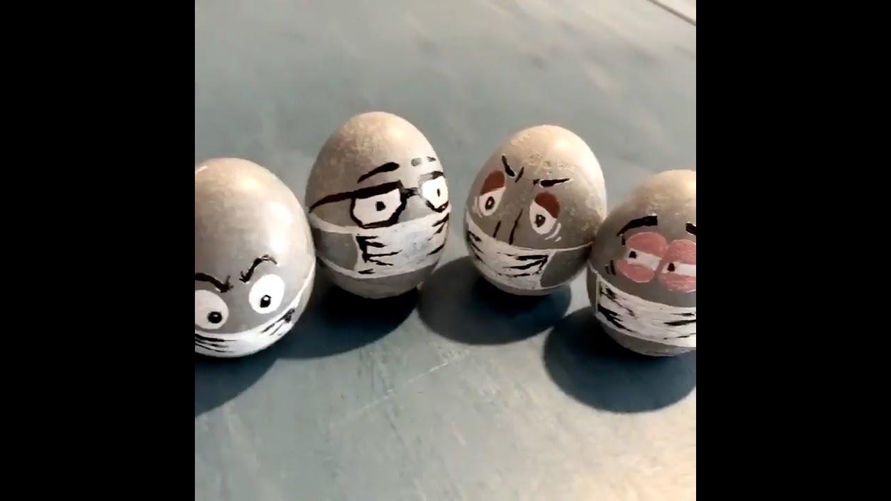 Челябинск: мастера отлили бетонные яйца к Пасхе #shorts