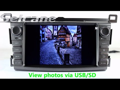 Oem 2013 2014 2015 2016 Toyota Rav4 Bluetooth Dvd Gps