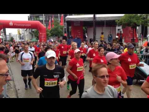 Heidenheimer Stadtlauf 2016 Start 10 KM und Halbmarathon