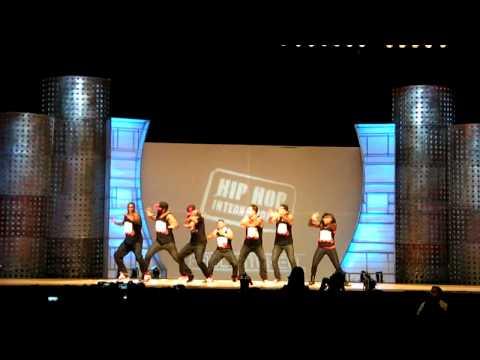 B-Boy Bebo with crew Phunk-Phenomenon, Hip Hop International August 2011