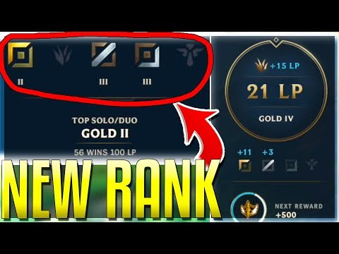 NEW RANKED SYSTEM FOR SEASON 9 IS HERE!! (Explained) - Riot's BEST Change Yet?? - League of Legends thumbnail
