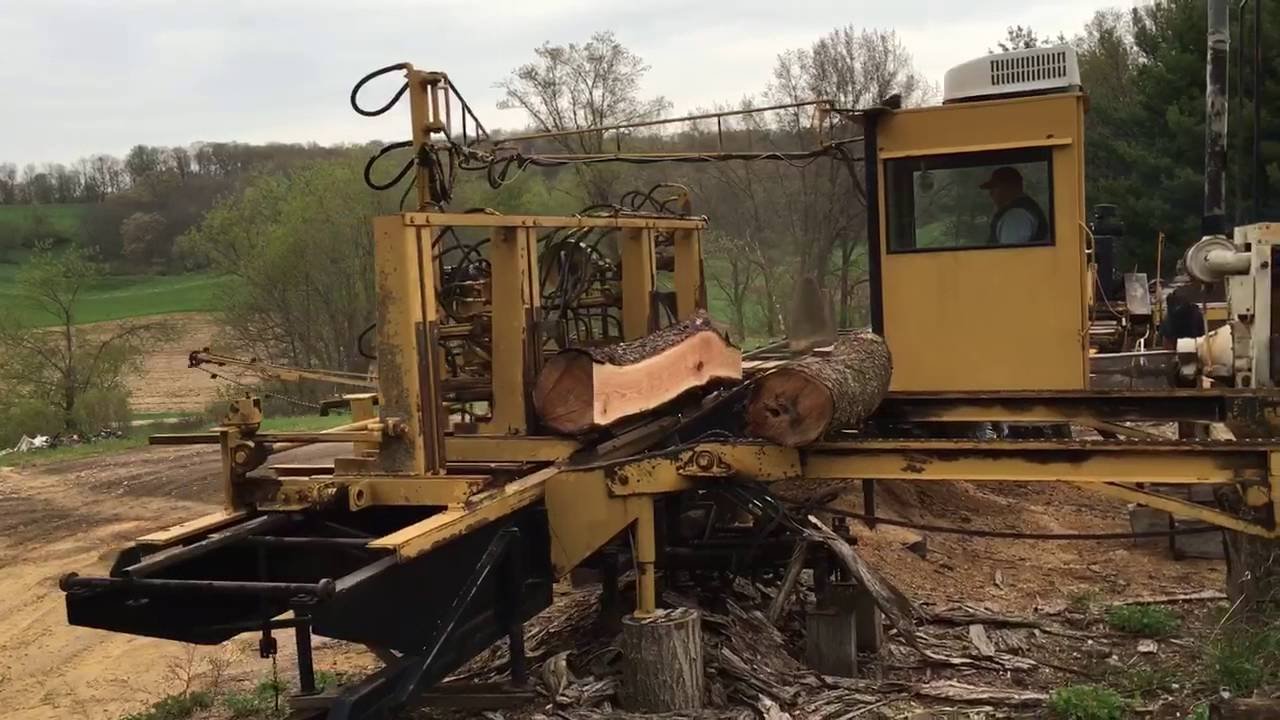 Saw Mill For Sale >> Circular Sawmill for sale - YouTube