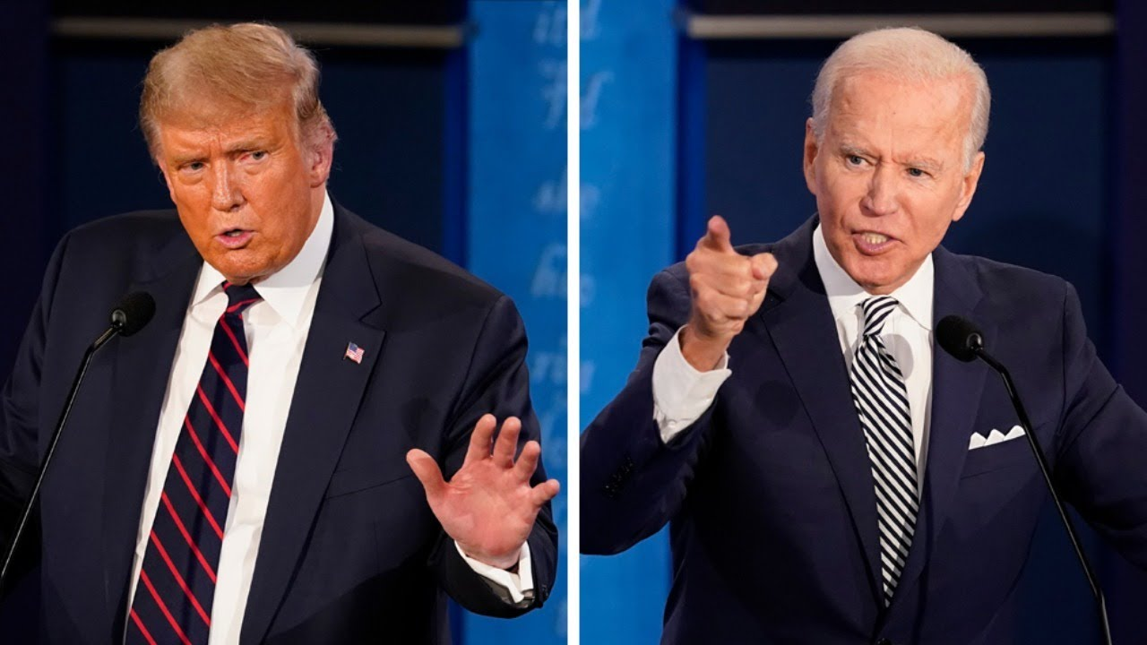 LIVE Final Debate: Donald Trump vs Joe Biden