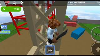 Playing roblox i think its a Nife