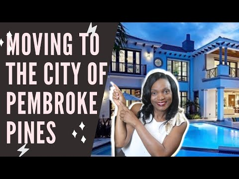 Pembroke Pines FLORIDA-(Driving through Pembroke Pines Florida)Touring a Home in Eagle creek