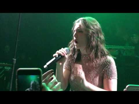 "Lorde ""Green Light"" at NYC Sirius XM Radio private event - The Bowery Ballroom"